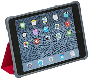STM Apple iPad Air/Air 2 Carcasa Funda con función de Dux - Rojo