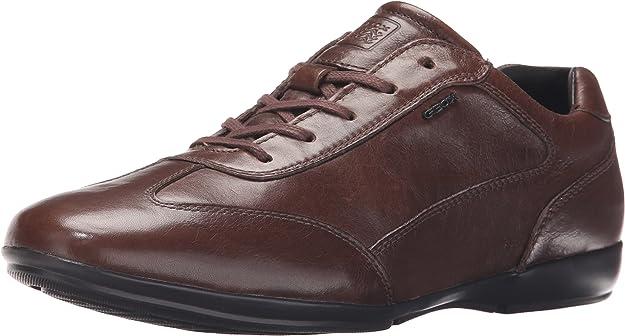 TALLA 46 EU. Geox U Efrem A, Zapatos de Cordones Oxford Hombre