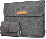 Inateck Laptop Sleeve Compatible MacBook Pro 13 Case 2018/2017/2016 (A1989/A1706/A1708)/MacBook Air 2018/Microsoft Surface Pro 6/5/4/3 Case, Dark Gray