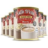 Caffe D'Vita Sugar Free Mocha Cappuccino - Gluten Free, Sugar Free, Decaffeinated, Zero Cholesterol, Kosher-Dairy, Halal - Ad