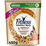 Nestle Fitness Granola with Quinoa, Almonds & Chocolate Breakfast Cereal, 450g