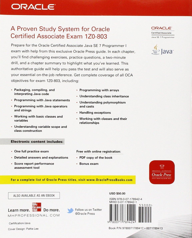 Oca Java Se 7 Associate Study Guide Pdf
