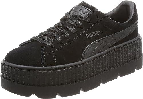 Puma X Fenty Wmn Cleated Creeper Suede Damen Platform Sneaker Turnschuhe  366268 04 Schwarz