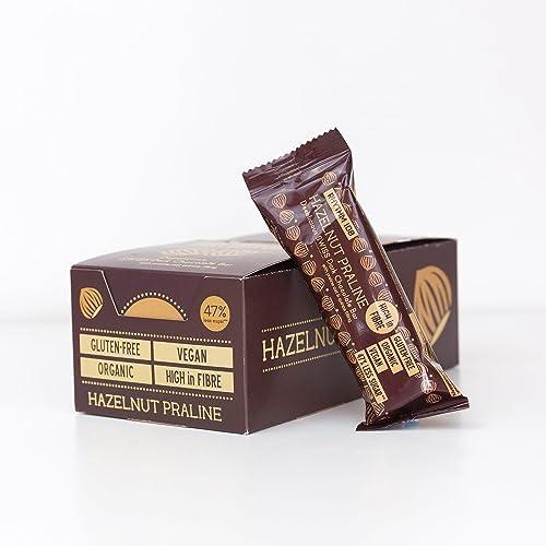 Rhythm 108 Hazelnut Praline Quinoa Swiss Chocolate Bar - Pack Size = 15x33g