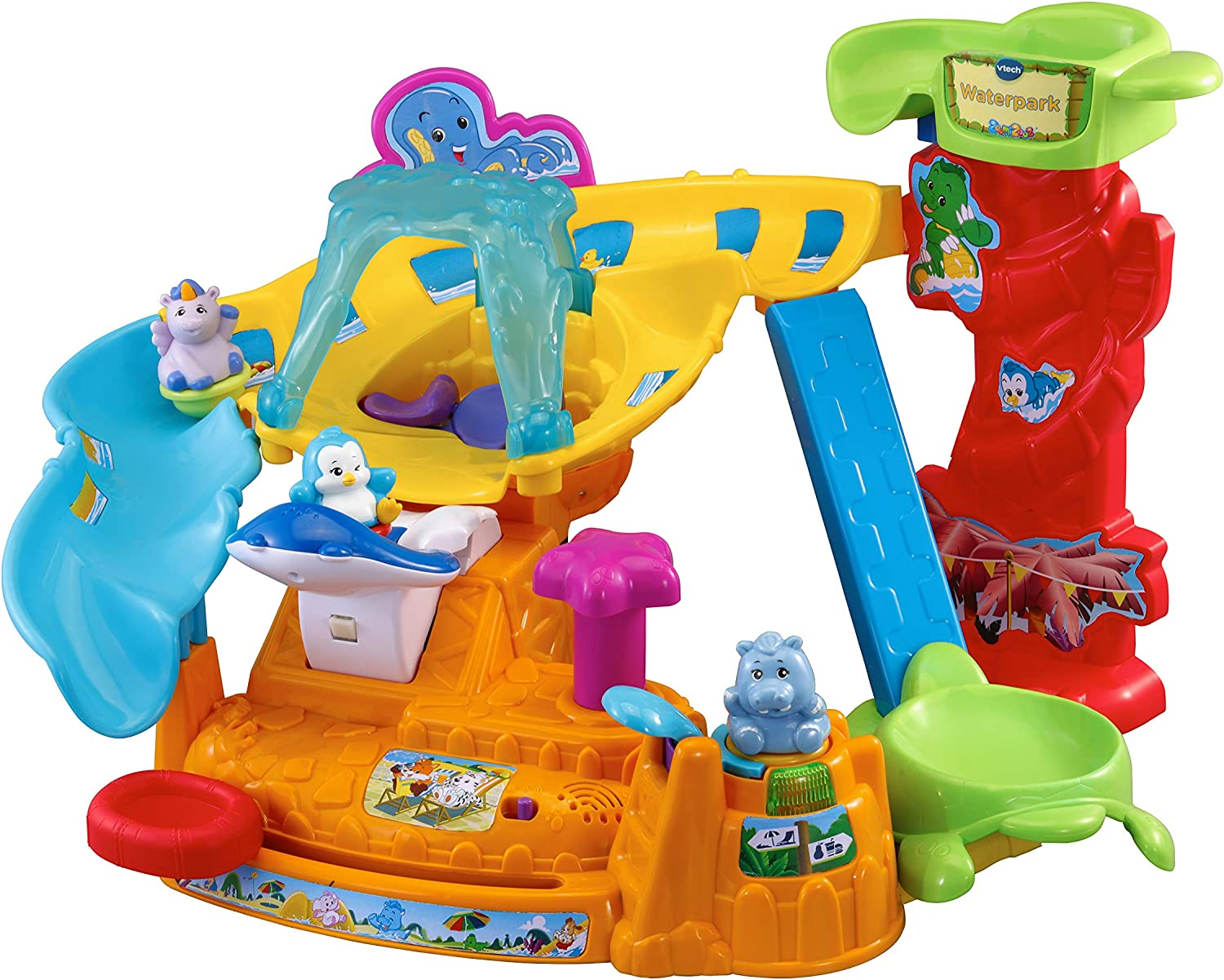 VTech ZoomiZoos Water Park Interactive Animal Baby Play Set 33% OFF £26.99 @ Amazon
