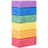 Funny Poop Floam Slime Clay 6 Blocks with 6 Colors Modeling Foam Beads Play Kit for Kids Educational Magic Clay DIY Art Craft