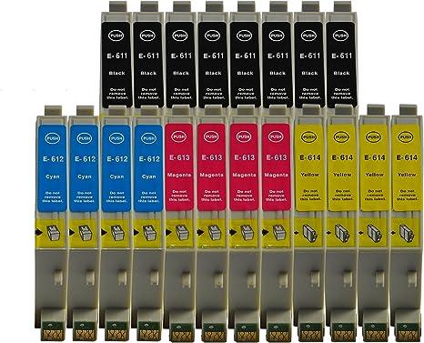 Cartuchos de tinta con chip de 3color® para Epson Stylus D68 D68PE ...