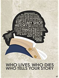 photo relating to Hamilton Lyrics Printable known as : Live performance Promoter Hamilton Poster - Broadway