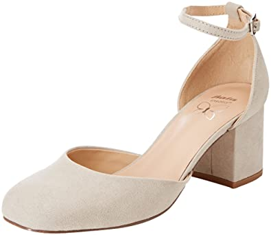 7246677, Chaussures à Brides Femme - Noir - Noir, 36 EU EUBata