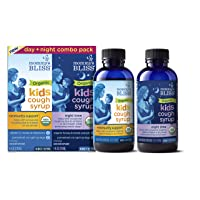 Mommy's Bliss - Organic Kids Cough Syrup + Immunity Support Day/Night Combo Pack...