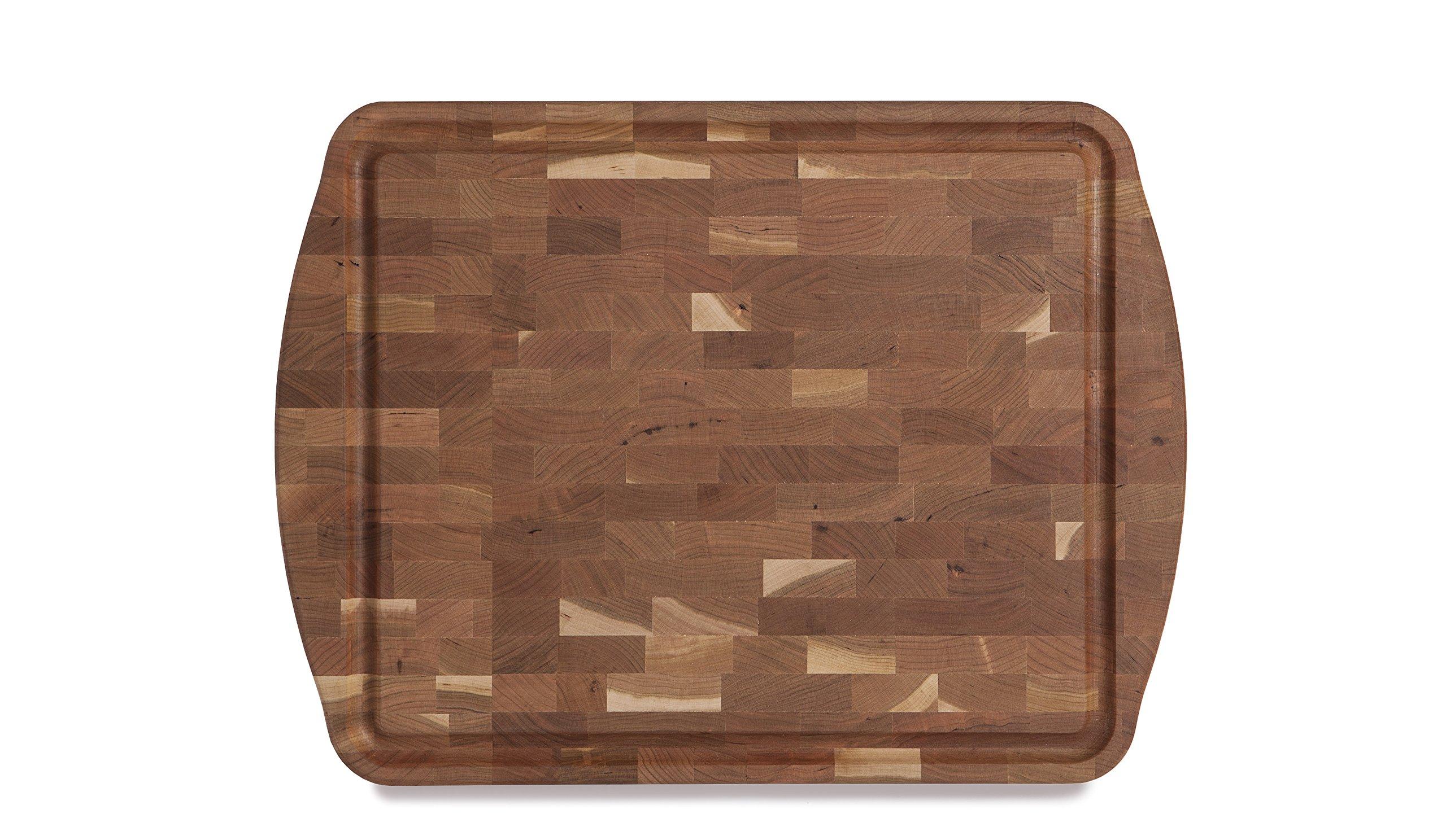 J.K. Adams Morgan End Grain Carving Board, 20'' x 15'' x 21/2'', Cherry by J.K. Adams (Image #1)