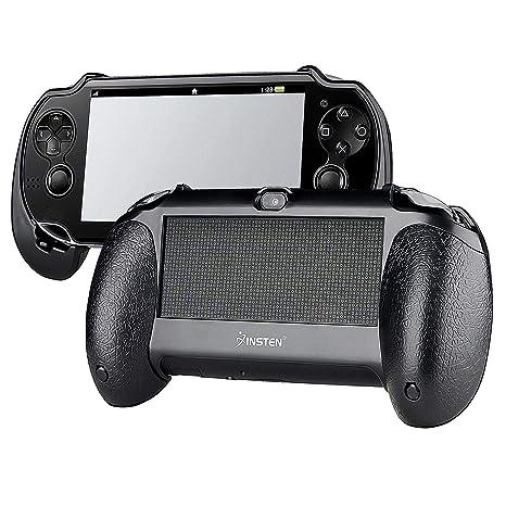 Para Sony PS Vita PSV Negro Bracket Joypad Mano Agarre ...