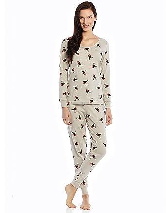 Leveret Women's Printed 2 Piece Pajama 100% Cotton (Size XS-XL) at ...