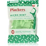 Plackers Micro Mint Freshens Breath, Mint, 90 Count