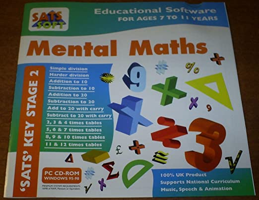 MENTAL MATHS - \'SATS\' KEY STAGE 2 - EDUCATIONAL SOFTWARE FOR AGES 7 ...