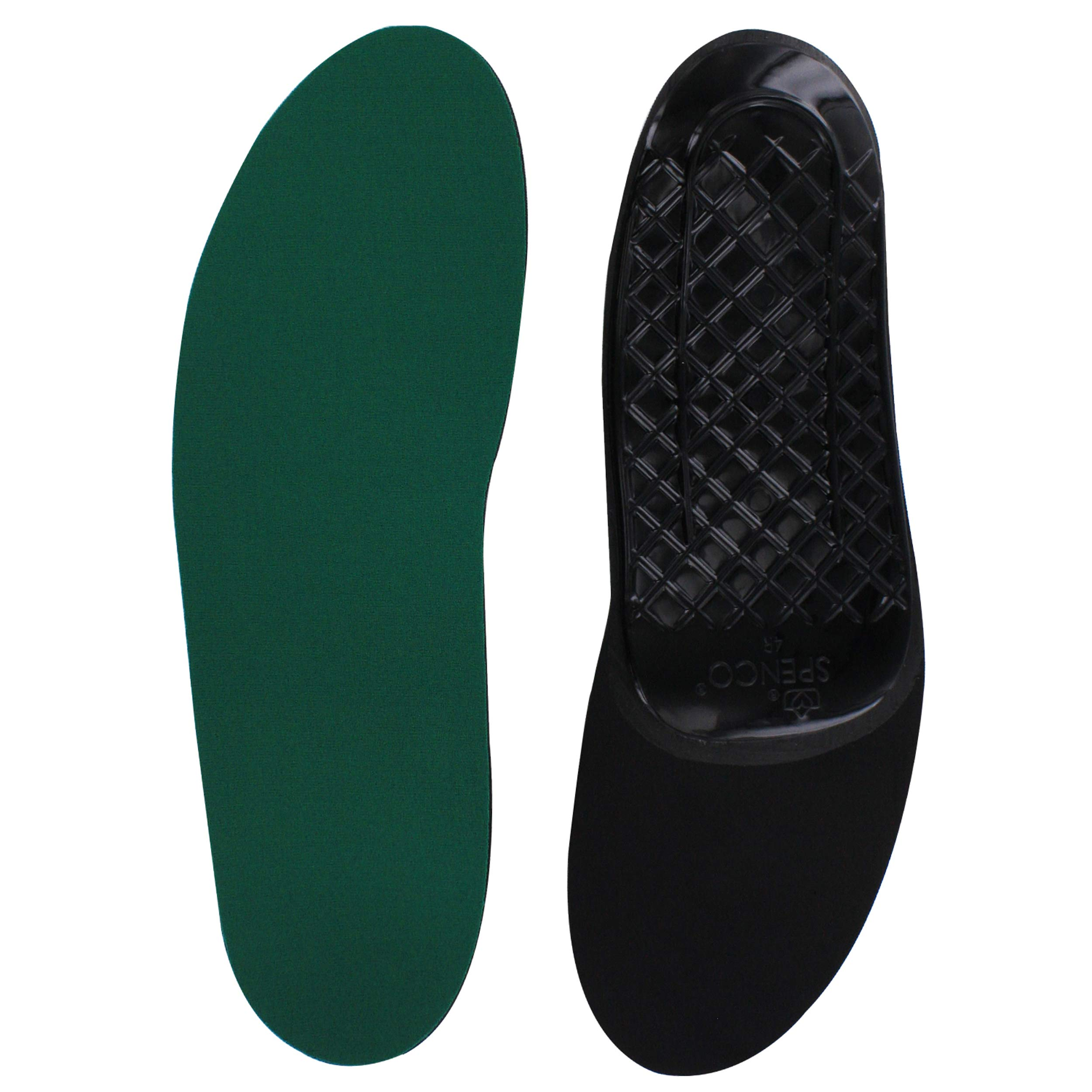 Spenco Rx Orthotic Arch Support Full Length Shoe Insoles, Women's 9-10.5/Men's 8-9.5