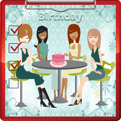 Birthday Party Planner - Check Off Party List
