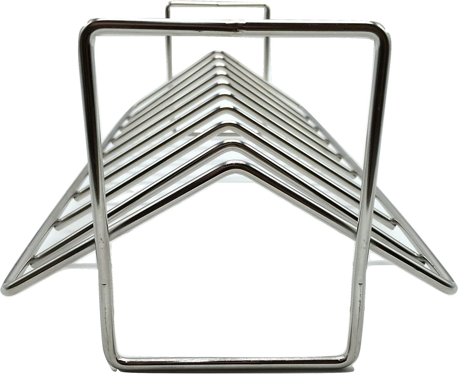 Aura Outdoor Products AOP-SVRP Stainless Steel Rib and Roasting Rack. for use with Big Green Egg, Kamado Joe, Vision, Grill Dome, Primo, and All Indoor ovens : Garden & Outdoor