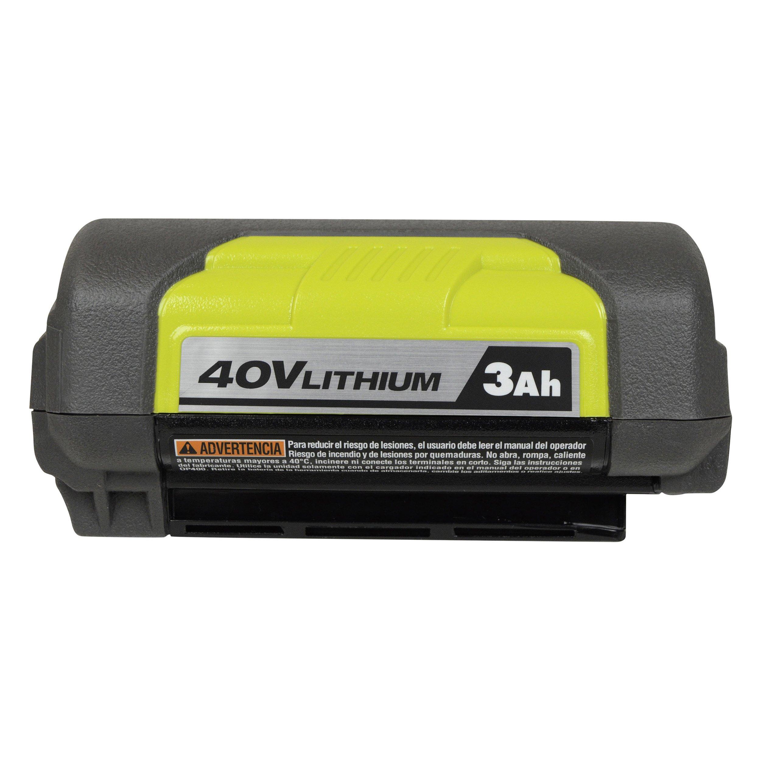 Ryobi OP4030 40V 3.0Ah Lithium ion Battery w/ Fuel Gauge by Ryobi (Image #3)