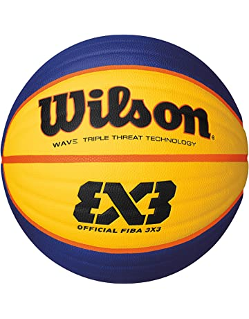 WILSON 3x3 Official Ball, Adultos Unisex, Amarillo, 3 x 3