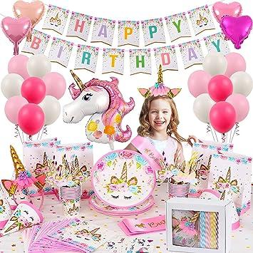 Ofertas en decoración cumpleaños unicornio