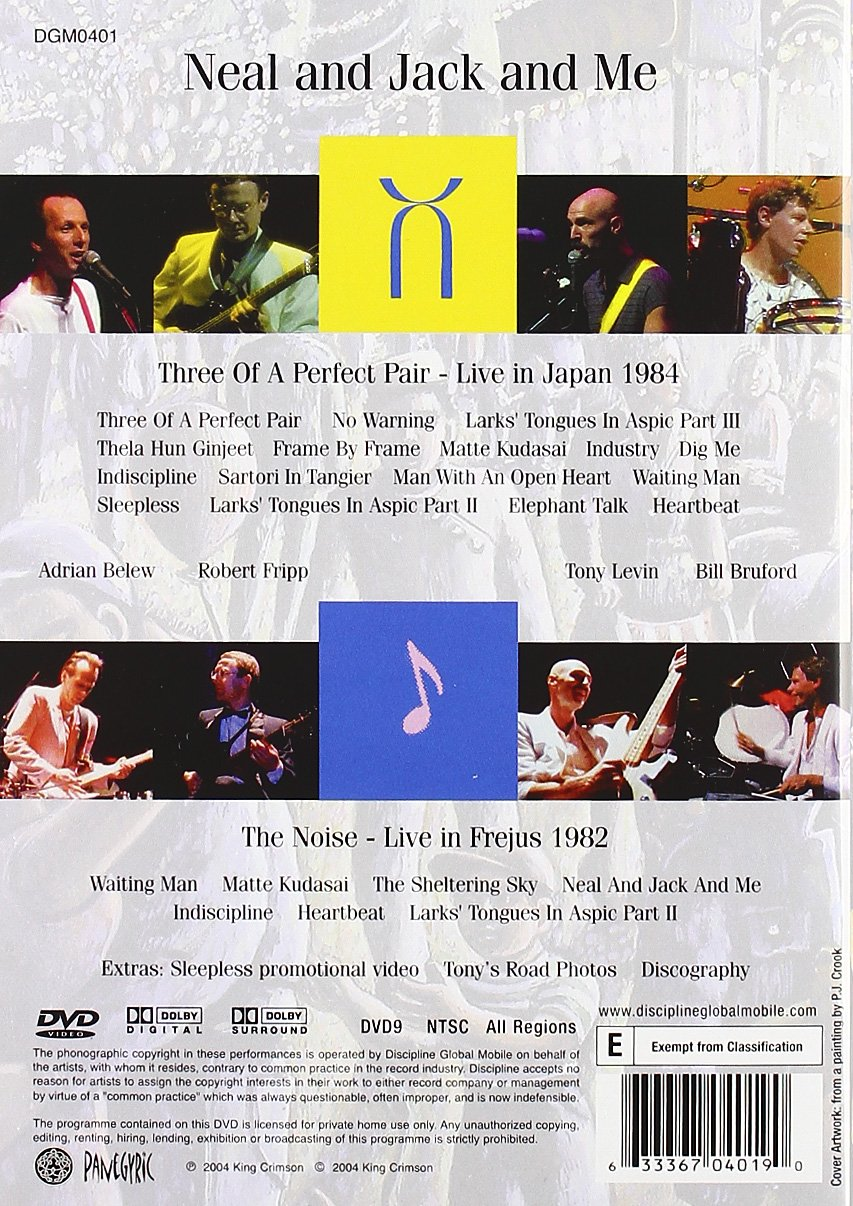 adrian belew king crimson discography