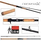 DAM Nanoflex G2 Salmon ACE Baitcast version - strong Spinning rod, 12.00 ft, 50-150g, 2 parts