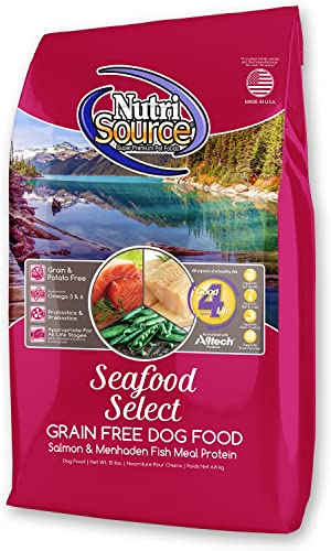 Tuffys Pet Foods Inc Nutri Source Grain Free Seafood Select Grain Free Recipe Dry Dog Food 15 Lb