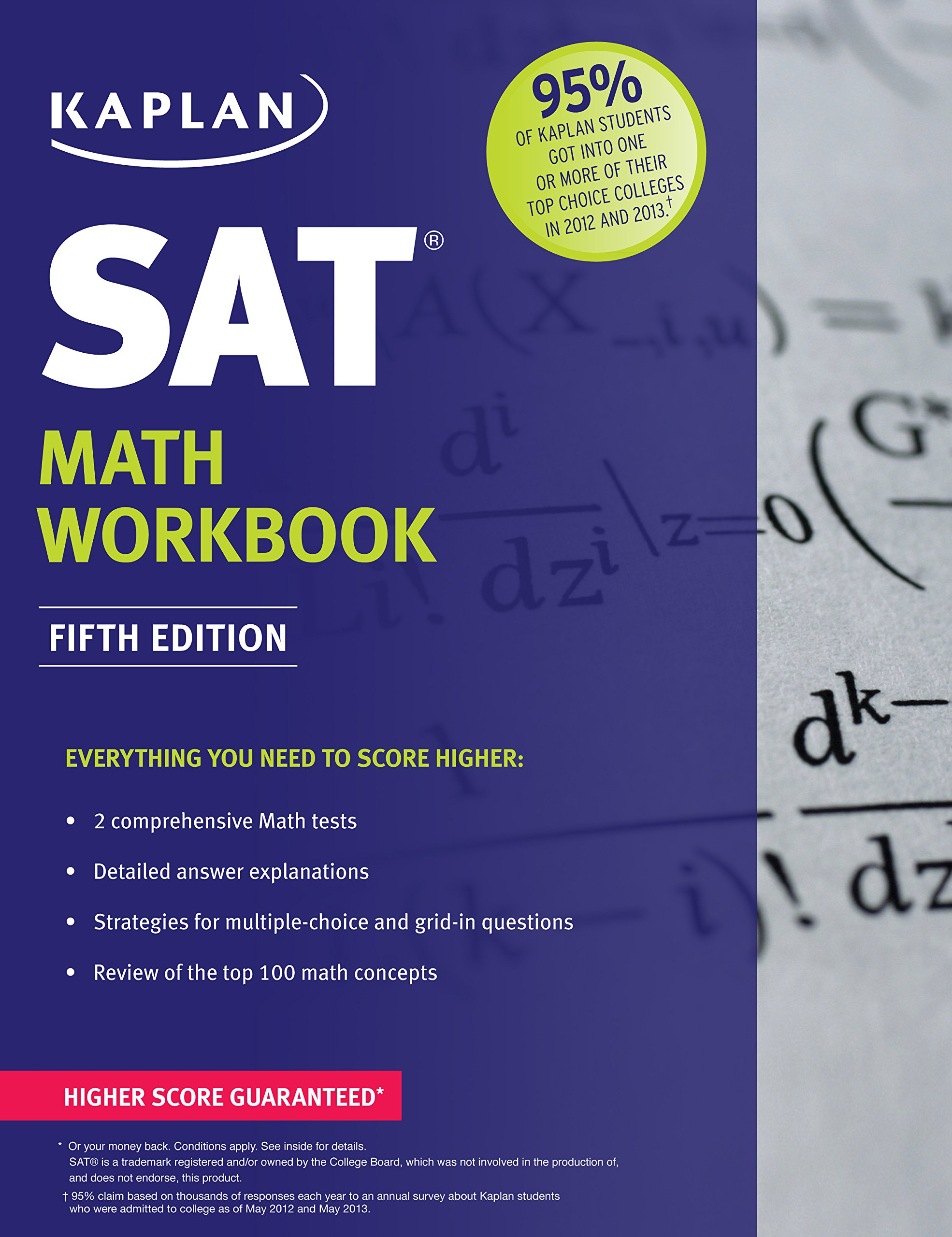Amazon Kaplan SAT Math Workbook Kaplan Test Prep – Sat Math Prep Worksheets