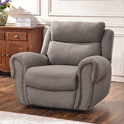 Super Harperbright Designs Recliner Chairs Fabric Recliner Loveseat Recliner Sofa Sets For Living Room Chair Taupe Gray Creativecarmelina Interior Chair Design Creativecarmelinacom