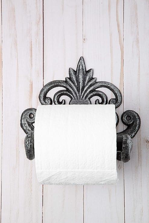 Amazon.com: Comfify Fleur De Lis - Portarrollos de papel de ...