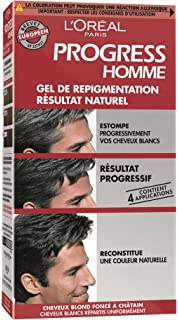 Gel de repigmentation naturelle coloration cheveux blancs