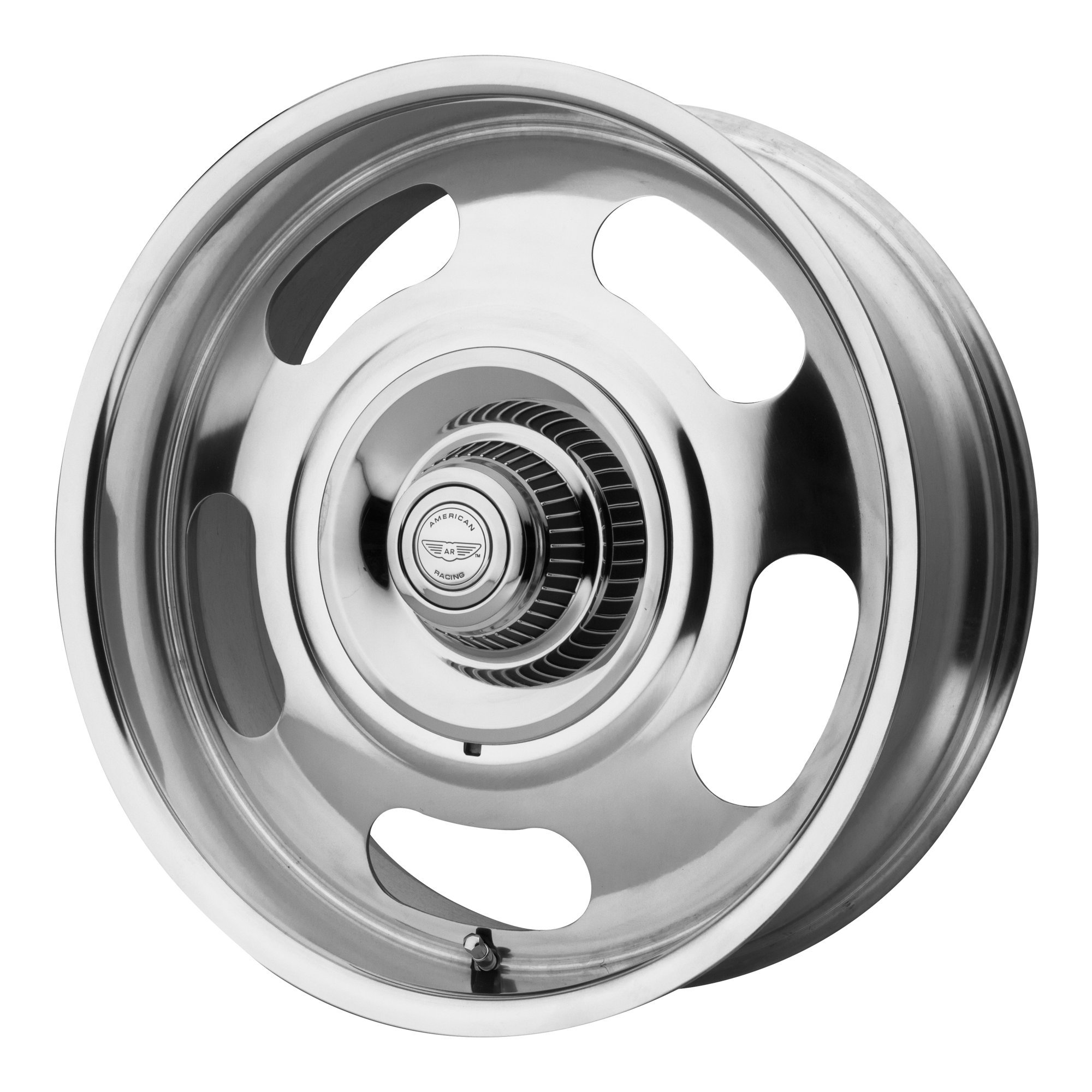 American Racing | VN50629506100 | 20 Inch | VN5061 Wheel/Rim | Polished | 20x9.5 Inch | 5x120.65/5x127.00/5x4.75/5.0 | 0mm Offset by American Racing (Image #1)