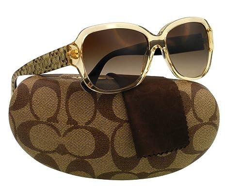 05f6acc2988 Coach HC8036 PAMELA Brown Brown Sunglasses 5074 13 Sunglasses ...
