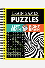 Brain Games - Puzzles: Left Brain Right Brain Spiral-bound