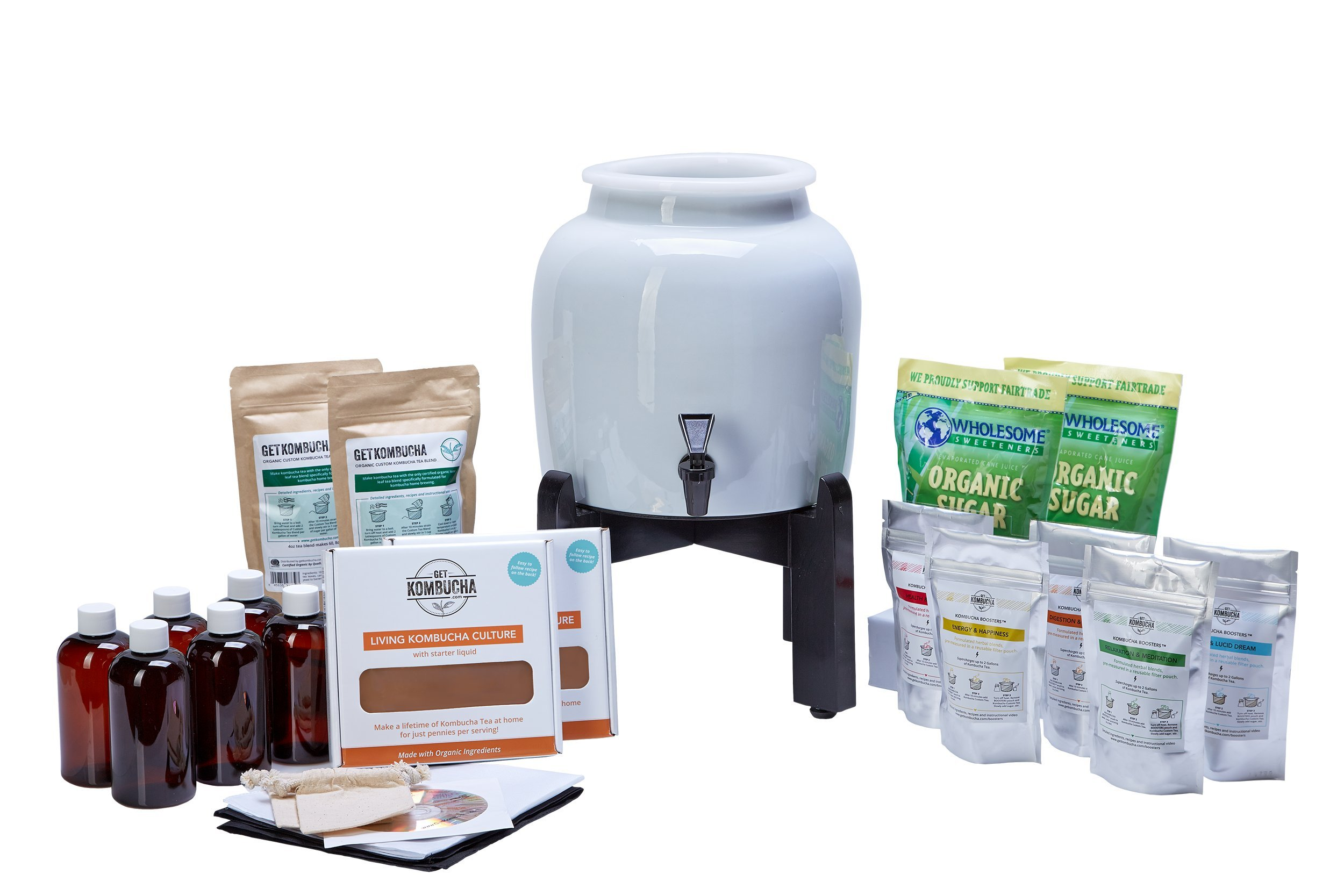 Make Kombucha Tea On Tap. Continuous Kombucha Home Brew Kit Makes 127 Bottles Of Great Tasting Kombucha Tea Right From Home Every 28 Days! Everything You Need To Get Brewing. 180 Day Guarantee.
