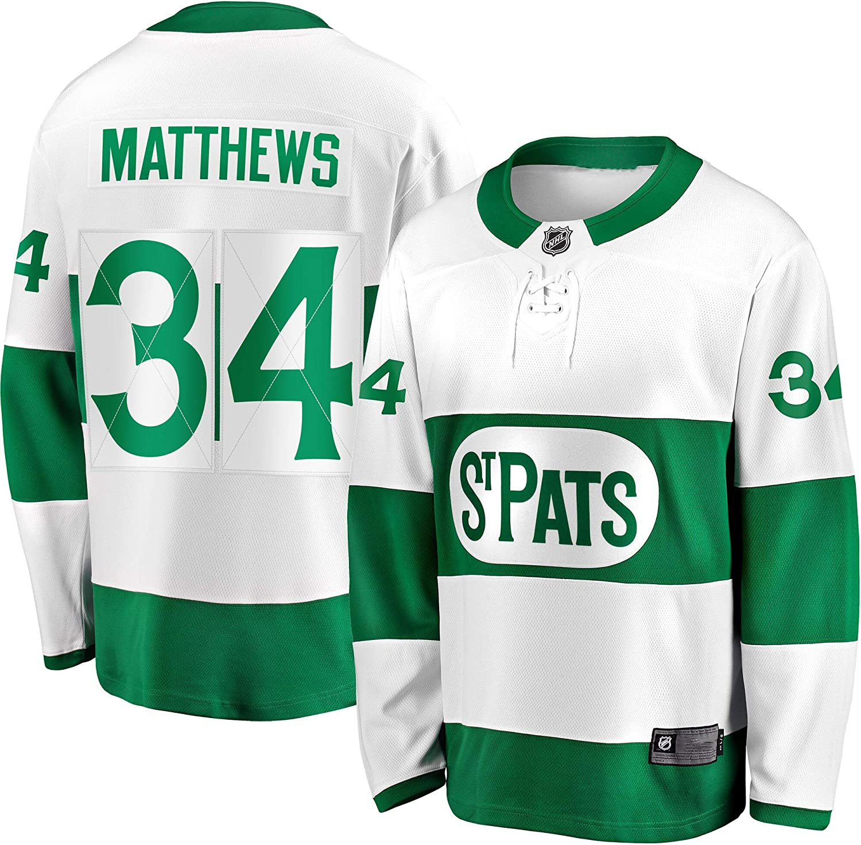 Auston Matthews Toronto Maple Leafs Swingman Jersey