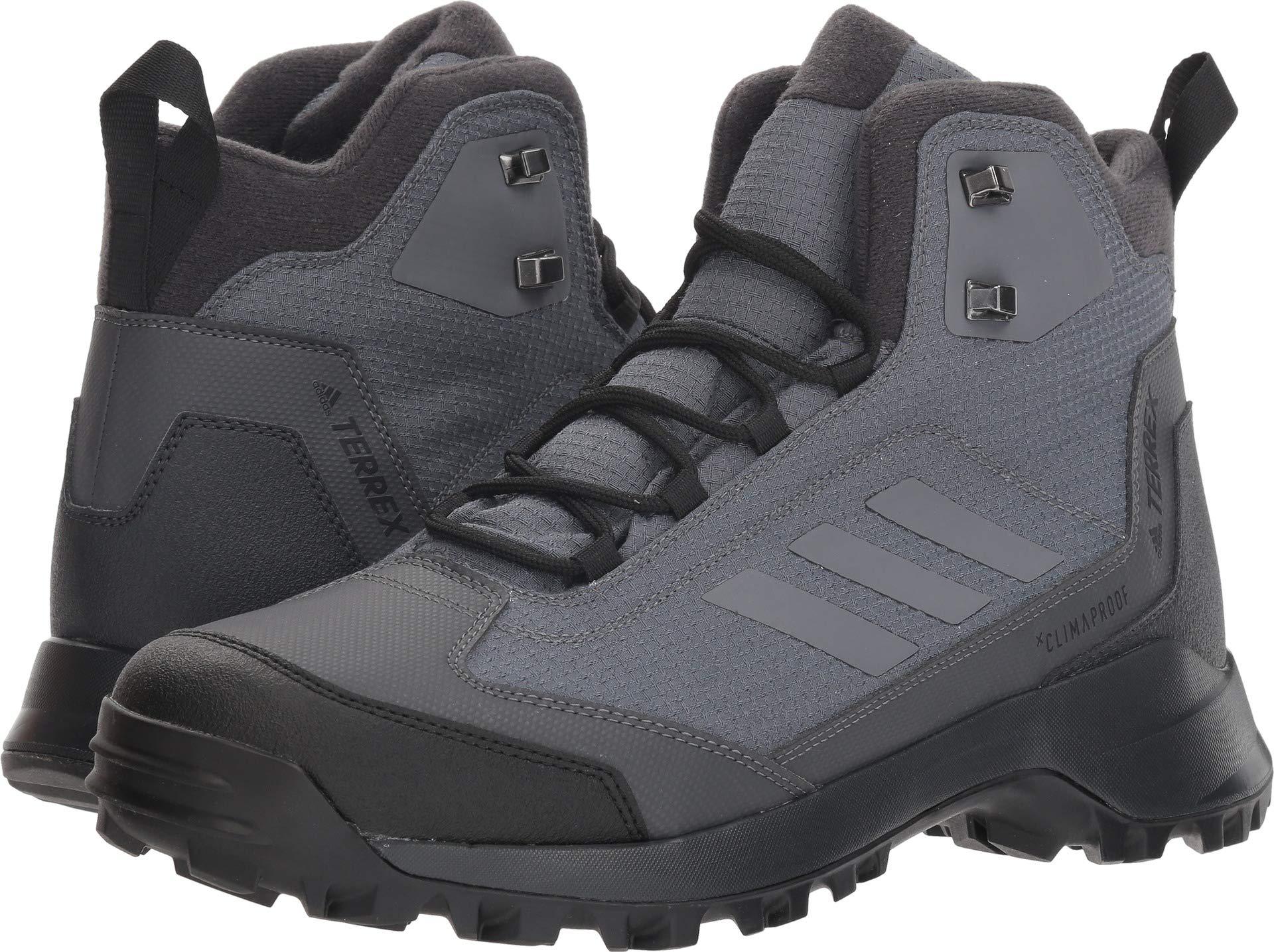 15e5764b50c adidas outdoor Men's Terrex Heron MID CW CP, Grey Five/Carbon, 6 D US