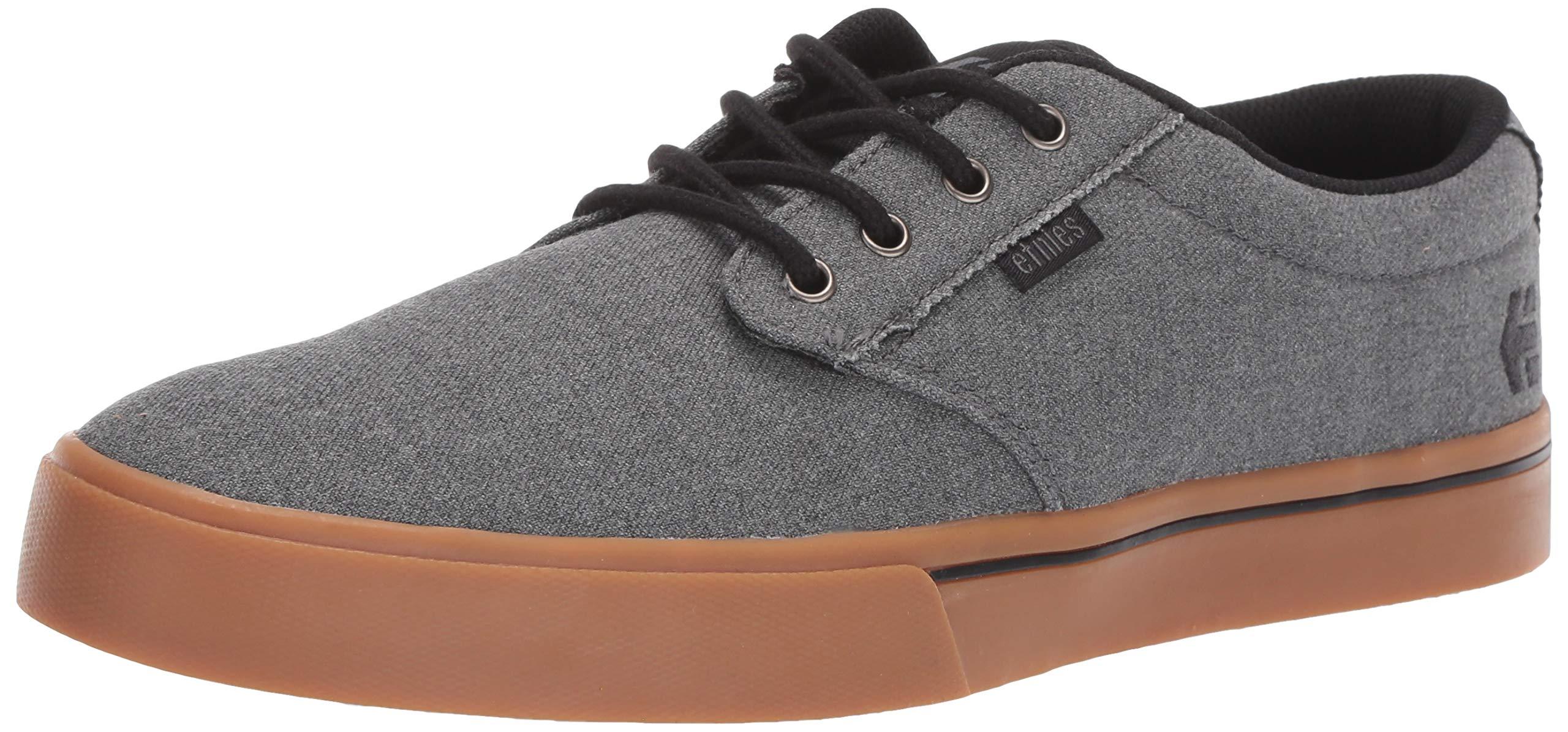 Etnies Men's Jameson 2 ECO Skate Shoe, Grey/Black/Orange, 11 Medium US