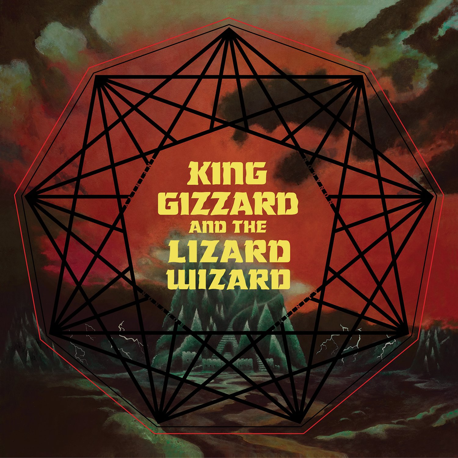 Vinilo : King Gizzard and the Lizard Wizard - Nonagon Infinity (LP Vinyl)