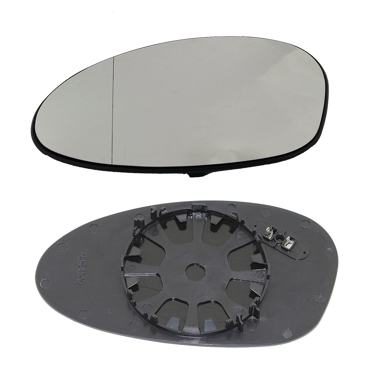 TarosTrade 57-0317-R-45838 Vetro Specchietto Retrovisore Riscaldabile Lato Destro