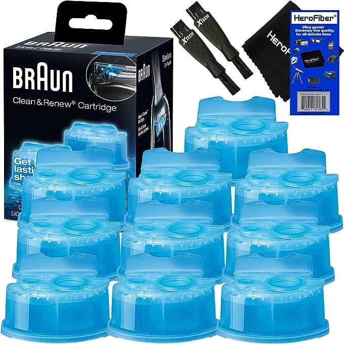 Braun Clean & Renew Cartuchos de recambio, limpiador de repuesto ...