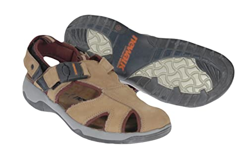 ae8829fc6df6 Newalk by Birkenstock Earth Leather Strap Sandals (45 EU US Mens 12 ...