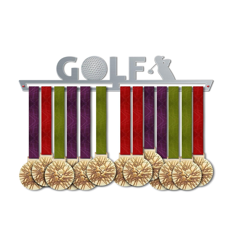 ゴルフメダルハンガー表示|スポーツメダルハンガー|ステンレススチールMedal表示| by victoryhangers – The Best Gift For Champions 。 B079MHGG8G 17.72 インチ