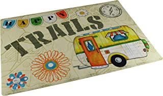 "product image for Drymate RVM1826HT RV Floor Mat 18"" x 26"" - Happy Trails"