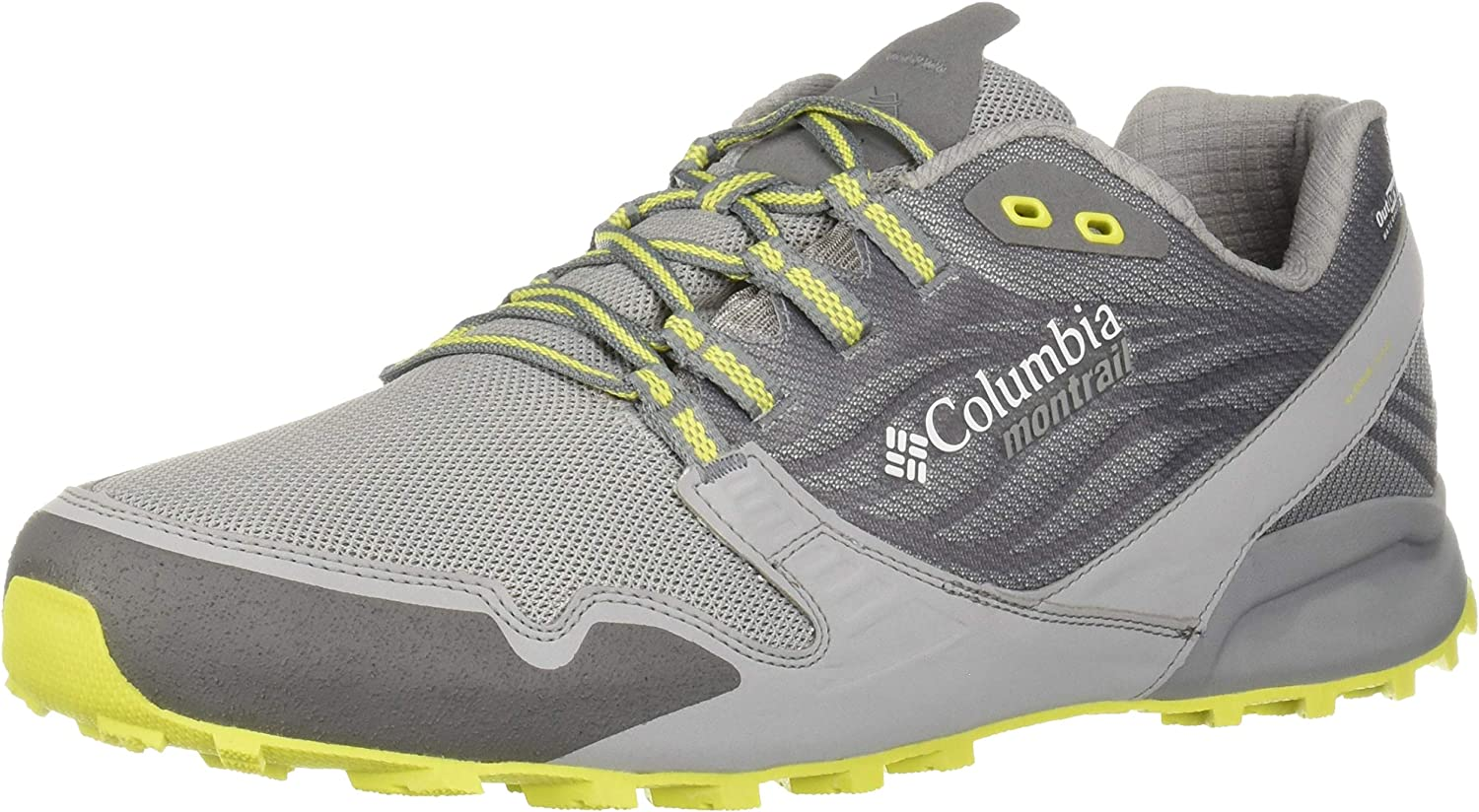 Columbia Men s Alpine Feel the Ground Outdry Trail Running Shoe, Waterproof Breathable