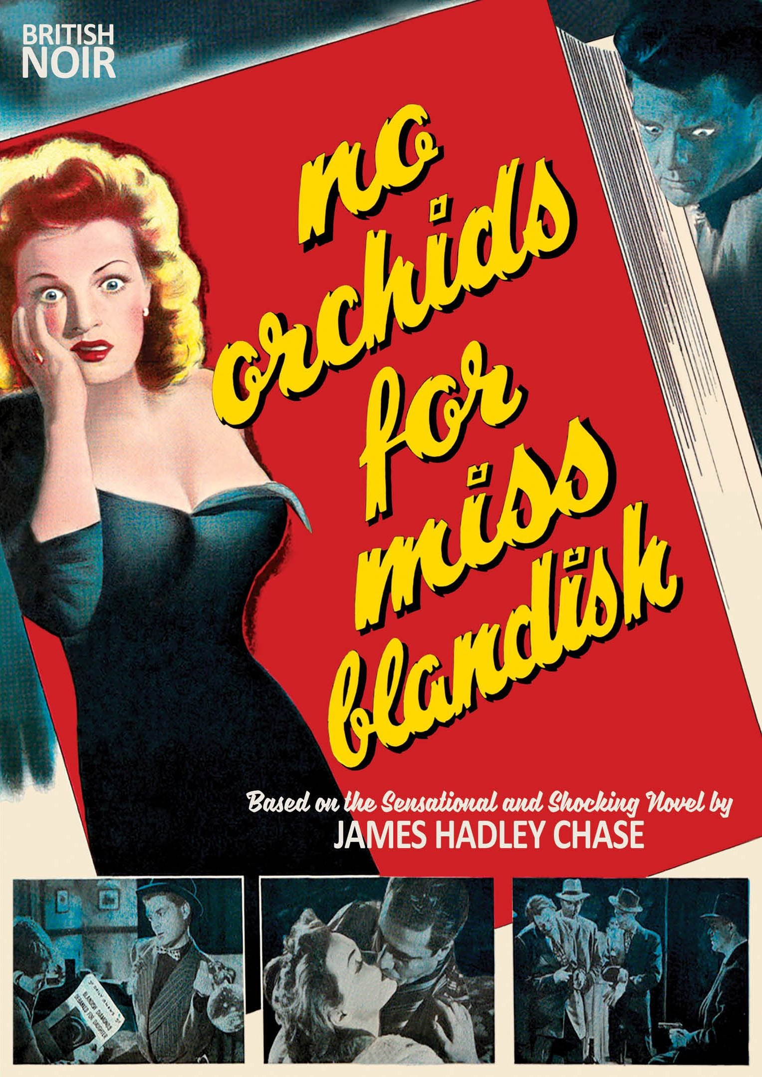 DVD : No Orchids For Miss Blandish (70th Anniversary) (DVD)