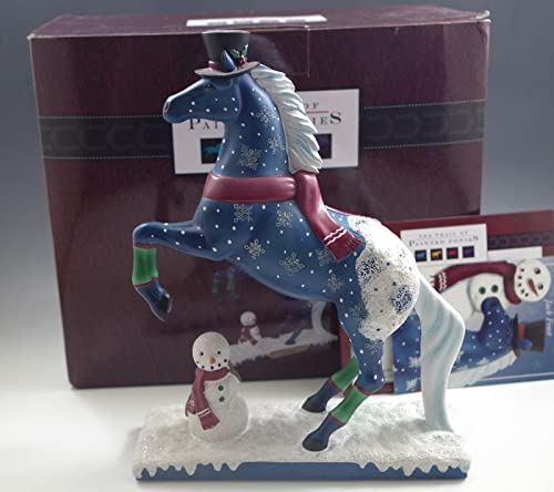 Trail of Painted Ponies Jack Frost Snowman Christmas Figurine 4046333