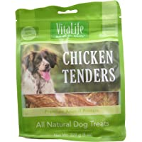 VitaLife Jerky Dog Treats - All Natural, Chicken Tenders, 227 g