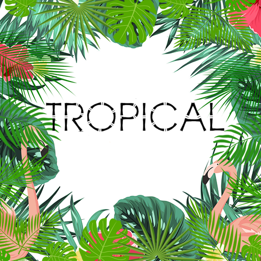 Tropical Wallpapers (Pool Palm Tree)
